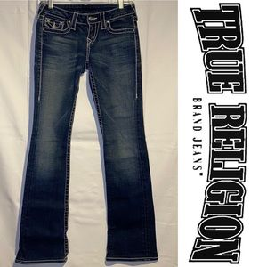 True Religion Women's Size 25 Denim Jeans Bootcut